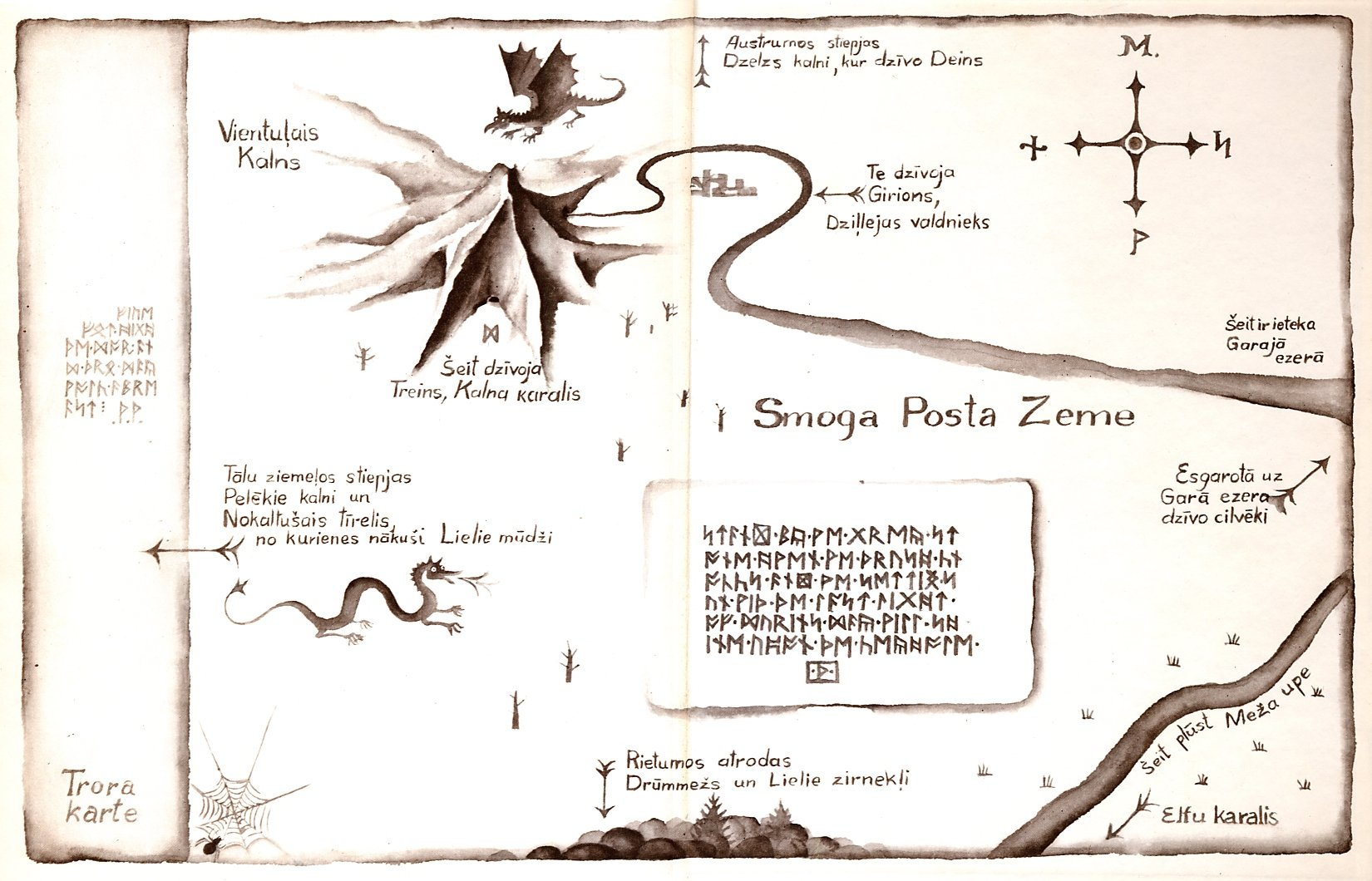 Maps from the Hobbit : image 13 of 24